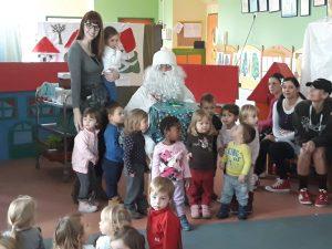 Obisk dedka Mraza v enoti Loka